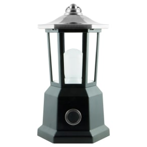 Outdoor Carriage Lantern - Brushed Nickel - Enbrighten