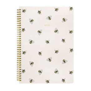 Bumble Bee A4 Spiral Notepad