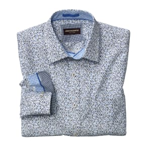Johnston & Murphy Floral Print Shirt