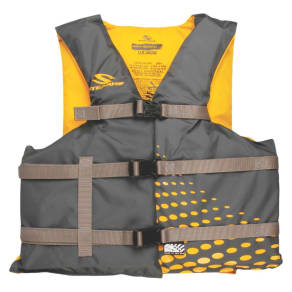Stearns Adult Classic Series Vest - Gold Rush - Universal Size, Gray