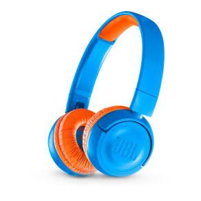 3c8d00ce4ea Jbl Jr300bt Wireless Bluetooth Kids Headphones - Rocker Blue, Blue. Currys  PC World