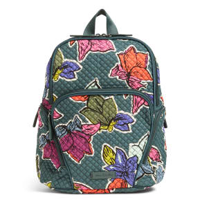 Vera Bradley Hadley Backpack in Falling Flowers
