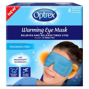 Optrex Warming Eye Mask Fragrance-Free - 8 Pack