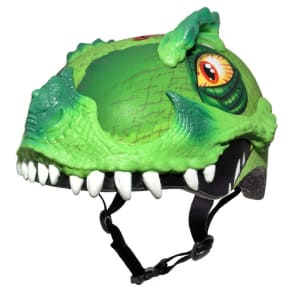 Raskullz T-Rex Awesome Child Helmet, Gray