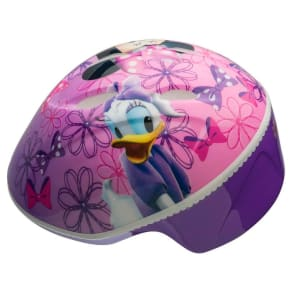 Minnie Mouse and Daisy Toddler Helmet - Pink/Purple