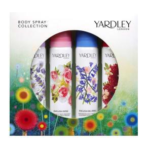 Yardley Body Spray Collection Set