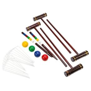 Kelsyus Premium Croquet, Multi-Colored