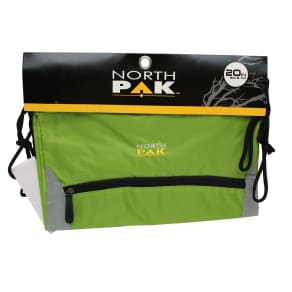 North Pak Green Cinch Sack - 20 Inches x 16 Inches