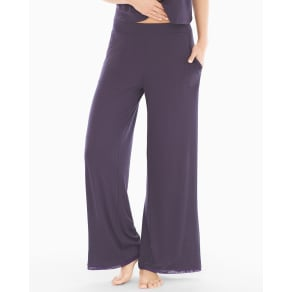 Soma Sleep Therapy Wide Leg Pajama Pants Nightshade