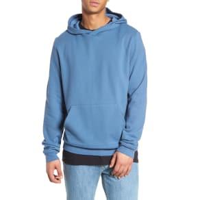 Men's the Rail Fleece Hoodie, Size Small - Blue