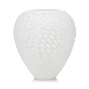 rjr.john Rocha White Textured Oval Vase