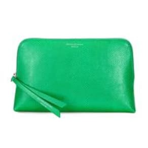Essential Cosmetic Case Grass Green Lizard Med