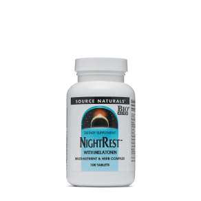 Nightrest With Melatonin - 100 Tablets - Source Naturals(r) - Melatonin