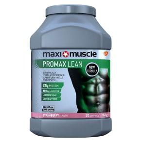 Maximuscle Promax Lean Protein Powder - Strawberry (765g)