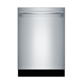 "Bosch Shxm63ws5n 24"" 300 Series Built-In Dishwasher W/ Bar Handle - Stainless Steel (Silver)"