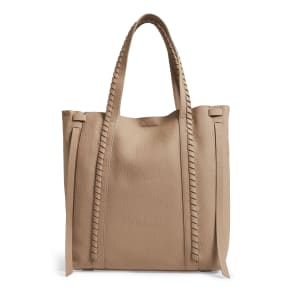 Allsaints Ray Leather Tote - Grey