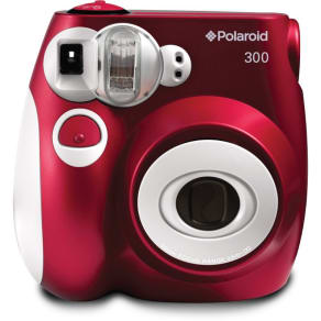 Polaroid Red Pic-300 Instant Print Camera