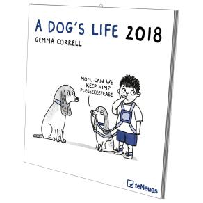 Gemma Correll a Dog's Life 2018 Calendar