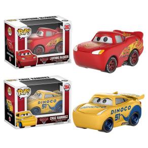 Funko Pop! Disney Cars 3 Lightning McQueen Collectors Set
