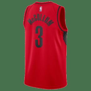 Cj McCollum Nike Nba Swingman Jersey - Mens - Red