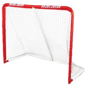 "Bauer Steel Hockey Goal - 50"" X 41"", Red"