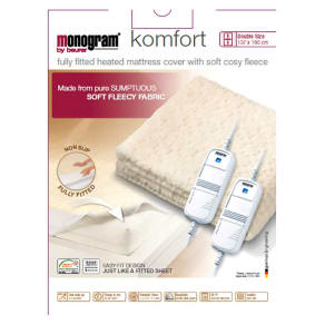 Monogram by Beurer Komfort Heated Mattress Cover - Double/Dual