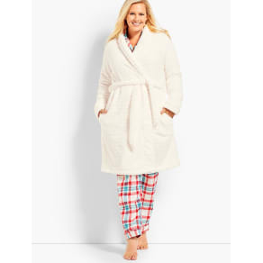 Talbots Women's Womans Exclusive Circle Textured Robe