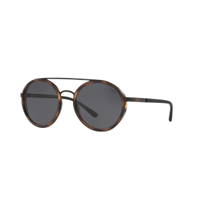 Polo Ralph Lauren Ph3103 53 Black Round Sunglasses