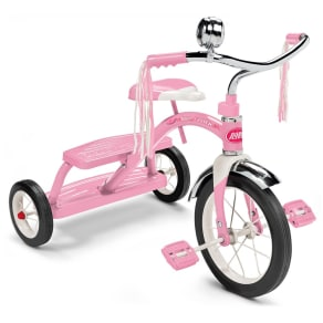 Radio Flyer Classic Dual Deck Tricycle - Pink, Multi-Colored
