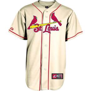 St. Louis Cardinals Majestic Mlb Men's Blank Replica Jersey