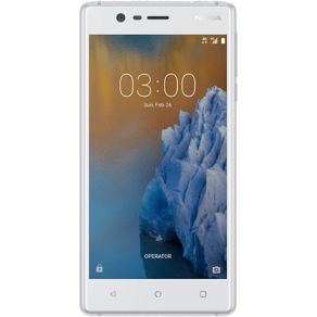 Nokia 3 (16gb Silver White) at Ps159.99 on Pay as You Go Everything Pack With 250 Mins; Unlimited Texts; 1000mb of 4g Data. Extras: Beats Ep Headphones (White) + Top-Up Required: Ps10.