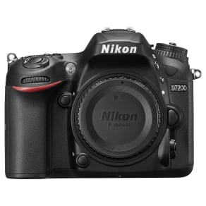 Nikon D7200 Dslr Camera, 24.2 Mp, Hd 1080p, Built-In Wi-Fi, Nfc, 3.2 Lcd Screen, Body Only