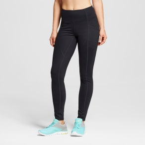 Women's Premium Leggings - C9 Champion Black M-Shorts, Size: M - Short