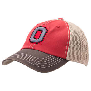 Top Of The World Ohio State Buckeyes College Heritage Offroad Trucker Adjustable Hat, Red