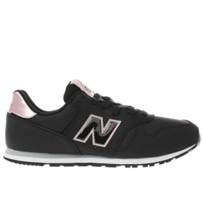 New Balance Black & Pink 373 Girls Youth Youth
