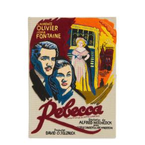 Olympia Le-Tan Hitchcock 'Rebecca' Book Clutch - Beige