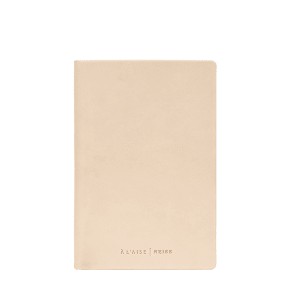 Reiss A'laise Notebook    - Leather Notebook  in Natural