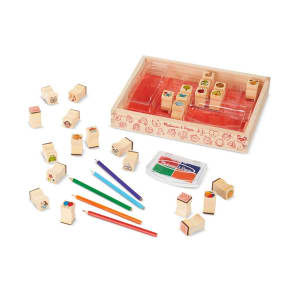Melissa & Doug - Favorite Objects Stamp Set