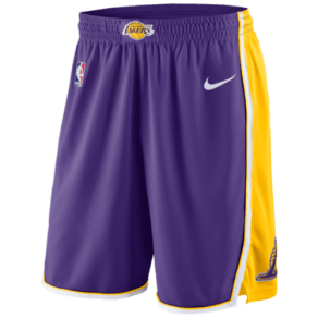Los Angeles Lakers Nike Nba Swingman Shorts - Mens - Purple