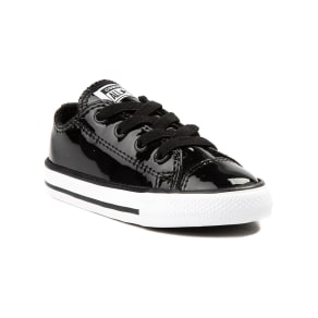 7330c63363d2 Toddler Converse Chuck Taylor All Star Lo Patent Leather Sneaker. Journeys