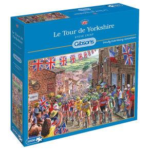 Gibsons Le Tour De Yorkshire Jigsaw Puzzle, 1000 Pieces