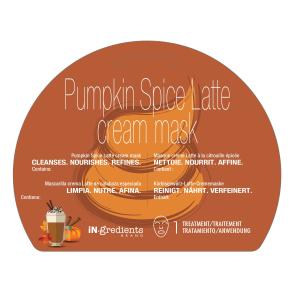 Masque Bar Pumpkin Spiced Latte