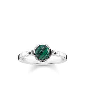 Thomas Sabo Ring Green Tr2177-880-6-56
