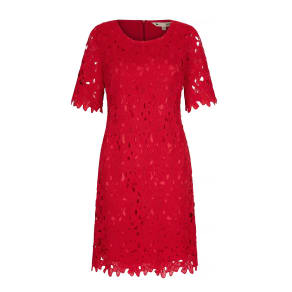 Yumi Floral Lace Occasion Dress, Red