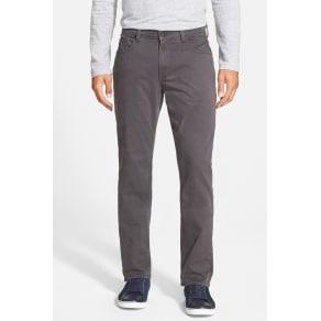 Normandie Slim Straight Leg Twill Pants