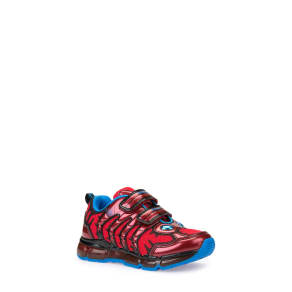 Boy's Geox Android Light-Up Sneaker, Size 13us / 31eu - Red