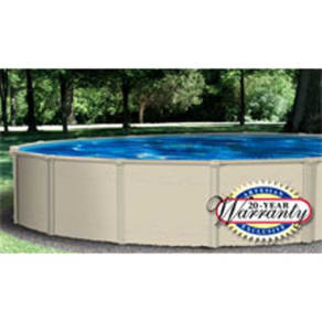 Sandstone 18' Round Above-Ground Swimming Pool