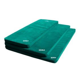 Kamp Rite Double Self Inflating Pad, Green