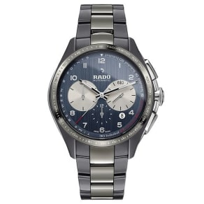 Rado Hyperchrome Men's Blue Ceramic Bracelet Watch