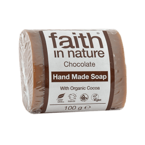 Faith in Nature Chocolate Soap 100g - 100g